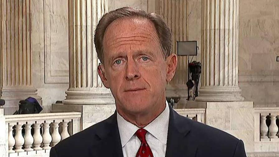 Senator Pat Toomey discusses non-binding motion to limit President Trump's powers to enforce tariffs on 'Your World.'