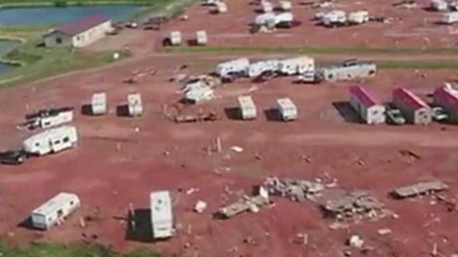 Newborn killed in North Dakota tornado