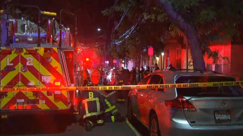 Explosion rips through Boston apartment