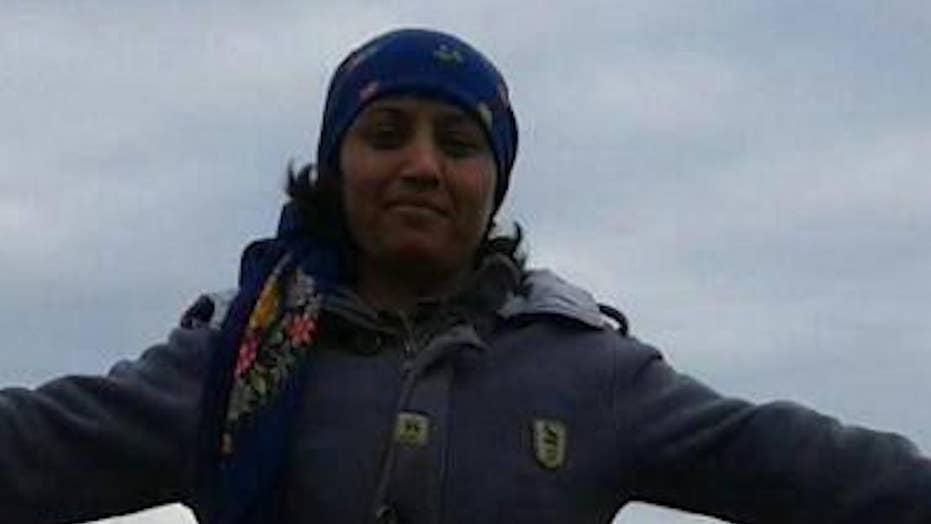 Kurdish female fighter's body defiled on video