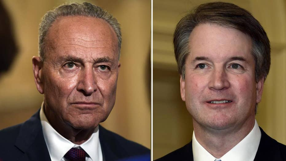 Napolitano: Can Chuck Schumer's anti-Kavanaugh crusade work?
