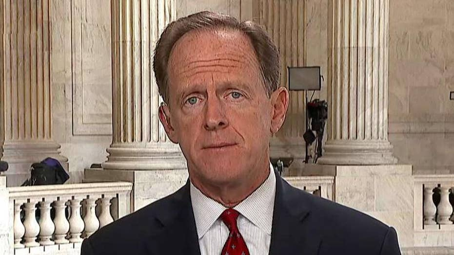 Toomey: Congress should have a role when setting tariffs