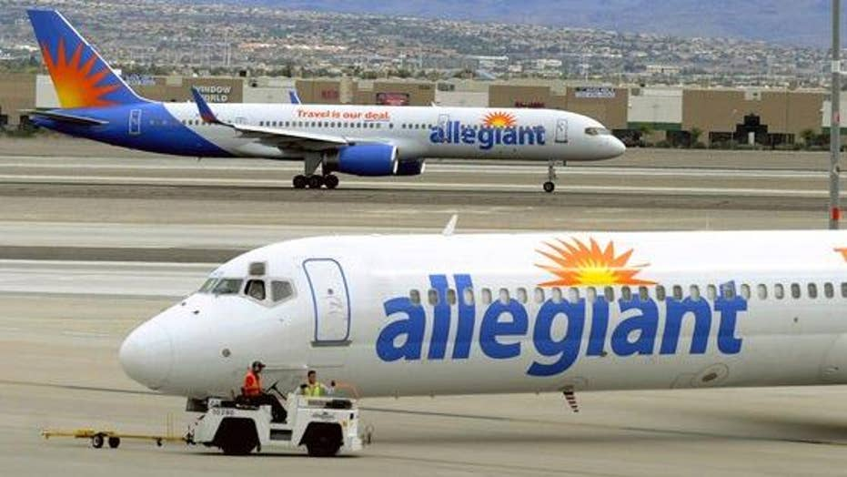 Allegiant Air pilots threaten strike over schedule dispute