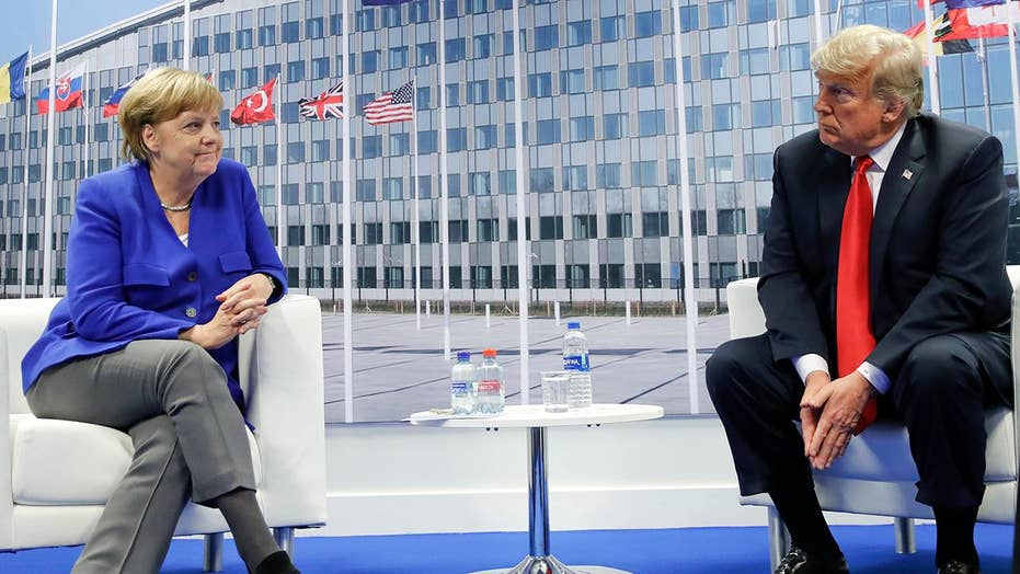 Trump blasts Germany over energy ties to Russia