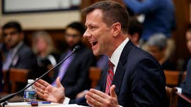 "President Trump called FBI Agent Peter Strzok's testimony on Capitol Hill last week over the investigation of Russian interference in the election a ""disgrace to our country."""