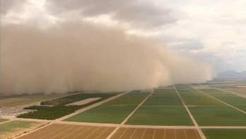 Tornadoes, wildfires and dangerous storms are taking their toll in North Dakota, California and Arizona.