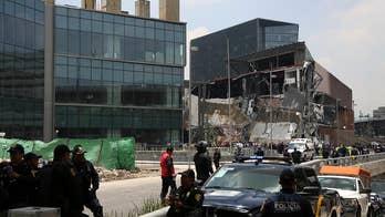 Controversial Mexico City shopping mall partially collapses