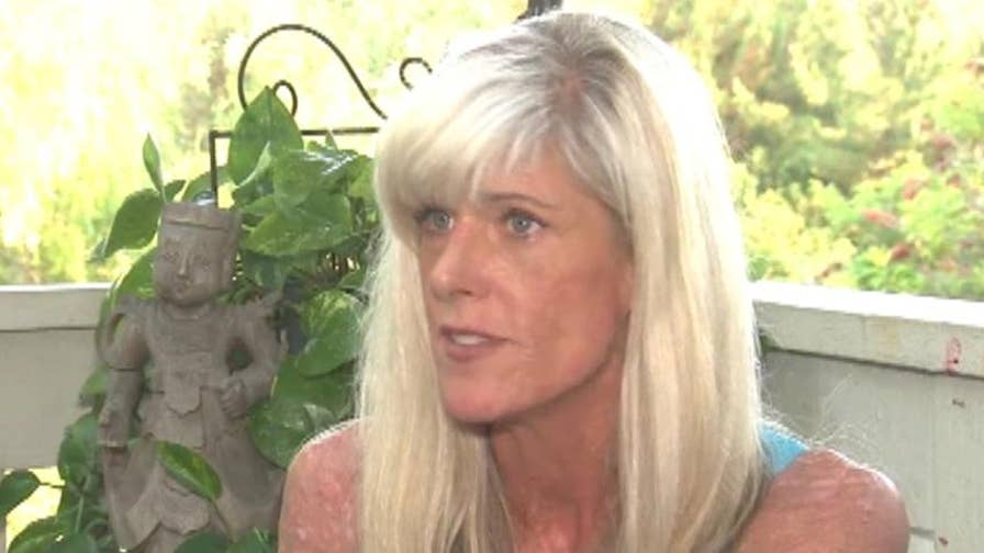 California woman breaks down after she says she was denied manicure at a nail salon due to her lupus symptoms.