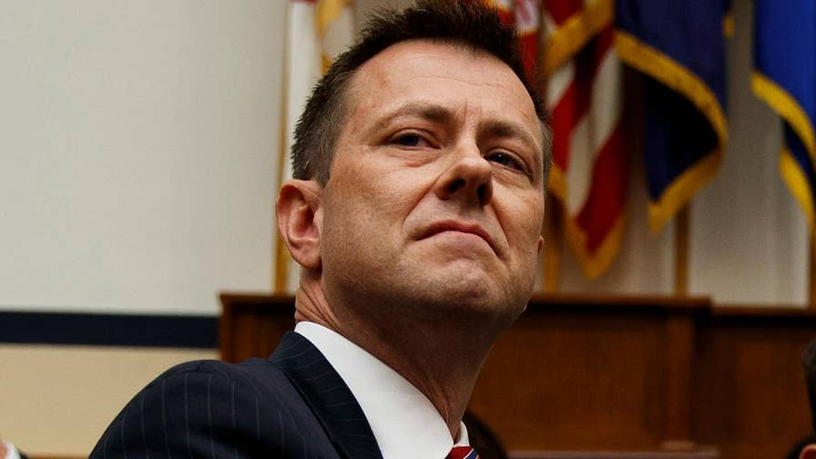 Rep. Trey Gowdy presses FBI agent Peter Strzok over anti-Trump texts at a joint hearing of the House Oversight and Judiciary Committees.