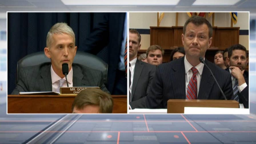 Verbal fireworks erupt during a joint congressional hearing surrounding the 2016 election with FBI agent Peter Strzok.