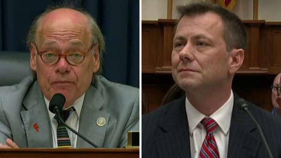 Democratic member of the House Judiciary Committee says Republican attacks on the anti-Trump FBI agent are an attempt to undermine the Russian collusion investigation.