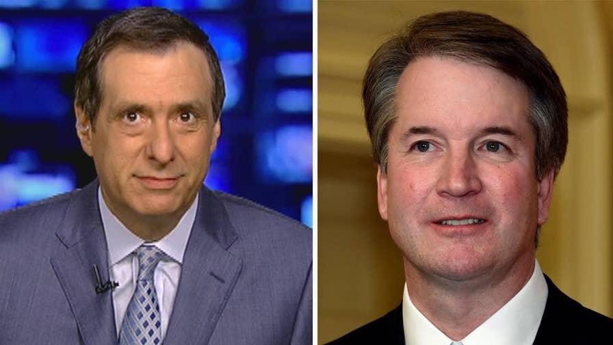 'MediaBuzz' host Howard Kurtz weighs in on the diminishing partisan media scrutiny over President Trump's Supreme Court nominee Judge Brett Kavanaugh.