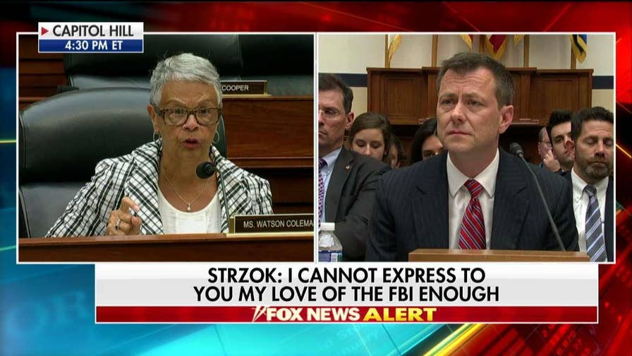 Bonnie Watson Coleman Rips Gowdy, Trump at Strzok Hearing