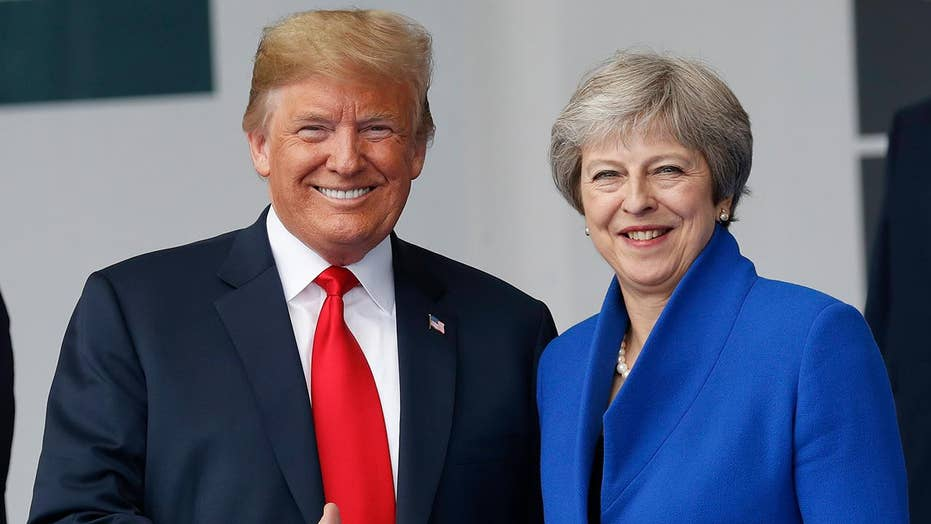 Trump warns May Brexit plan will 'kill' future US trade deal