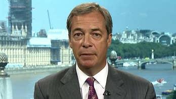 Nigel Farage on Trump's 'bombshell' Brexit intervention