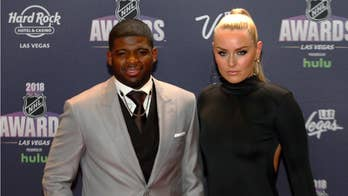 Lindsey Vonn and P.K. Subban gush over each other in a recent interview.