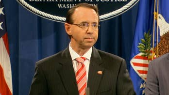 Deputy Attorney General Rod Rosenstein announced that the special counsel has indicted 12 Russian nationals for hacking Democrats during the 2016 presidential election.