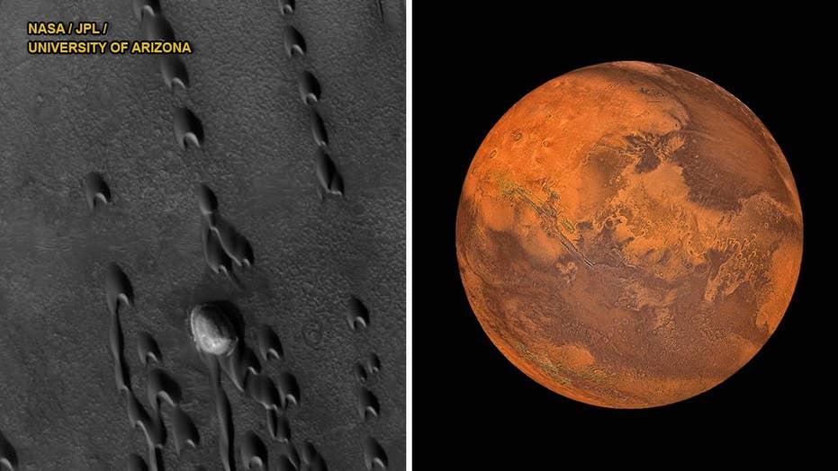 Found: 'Ghost Dunes' on Mars