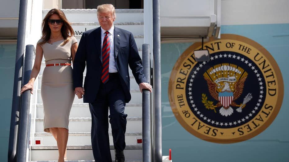 President Trump makes waves in the UK