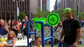 'Fox & Friends' has fun on the plaza with help from the Toy Insider and Great Neck Games.