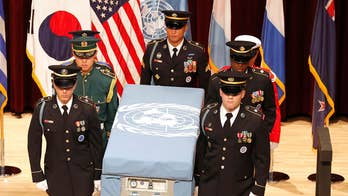 South Korea reports that U.S. and North Korea officials met at the DMZ to discuss the return of soldiers' remains; Lt. Col. Daniel Davis shares insight.