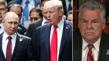 Trump to hold a summit with Putin after 12 Russian officers are indicted for election meddling; Rep. Peter King shares his perspective.