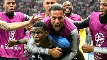 France beats Croatia in 2018 World Cup
