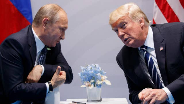 Putin summit agenda could include election hacking, Syria thumbnail