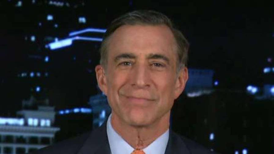 Rep. Darrell Issa joins 'Justice with Judge Jeanine' to discuss questioning Peter Strzok.
