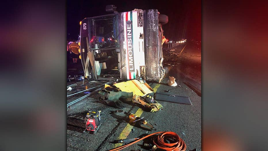 Multiple fatalities after bus crash in New Mexico