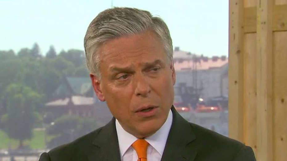 Huntsman shares a warning to Russia over 2018 elections
