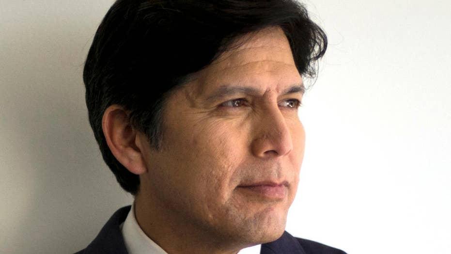 CA Democratic party endorses progressive challenger