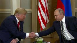 President Trump met behind closed doors for more than two hours Monday with Vladimir Putin, as the two leaders tackled weighty issues amid political pressure back home for Trump to get tough with the Russian president.
