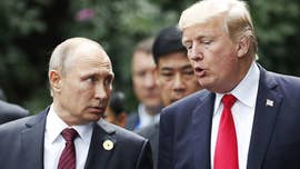 President Trump and Russian President Valdimir Putin hold a joint press conference Monday following a historic bilateral meeting in Helsinki, Finland.