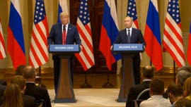 "President Trump faced harsh bipartisan criticism back home for his Helsinki press conference with Vladimir Putin on Monday, as lawmakers claimed the U.S. president missed a chance to ""stand up"" to the Russian president on election meddling."