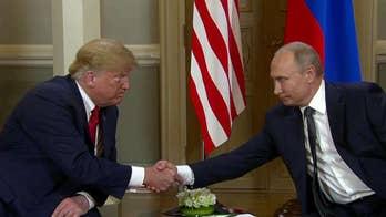 Trump, Putin hold historic summit at Finland's presidential palace