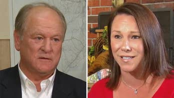 Jonathan Serrie reports on a fierce primary battle for the Republican congressional nomination in Alabama's 2nd District between Martha Roby and Bobby Bright.