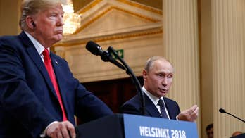 Russian President Vladimir says he didn't even know then-businessman Donald Trump was in Moscow, calls rumor 'utter nonsense.'