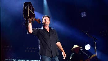 A video posted by a fan of Blake Shelton falling on stage forced the country music star to respond on his twitter, admitting that he has been drinking 'a lot.'