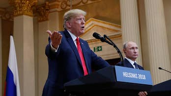 Critics pounce after Trump appears to take Russian President Putin's side in the argument over whether Russia interfered in the 2016 election; chief White House correspondent John Roberts reports from Helsinki.