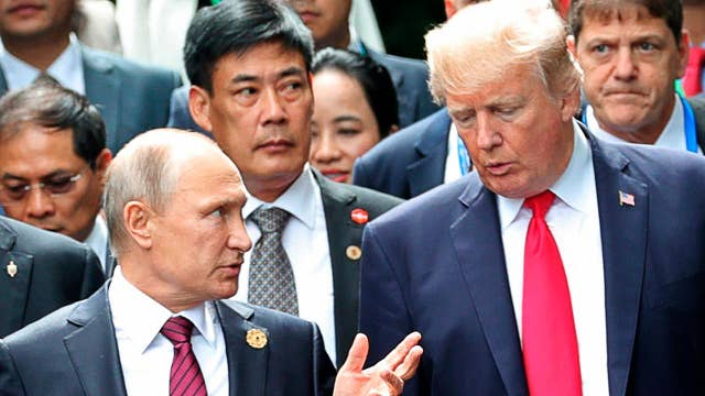 Trump expected to raise issue of election meddling at summit