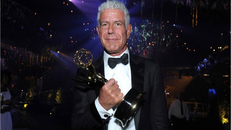 In a newly released interview, Anthony Bourdain slams the Clintons and Harvey Weinstein, calling Bill Clinton 'Gropey and rapey' and describing how he would like to see Weinstein die.