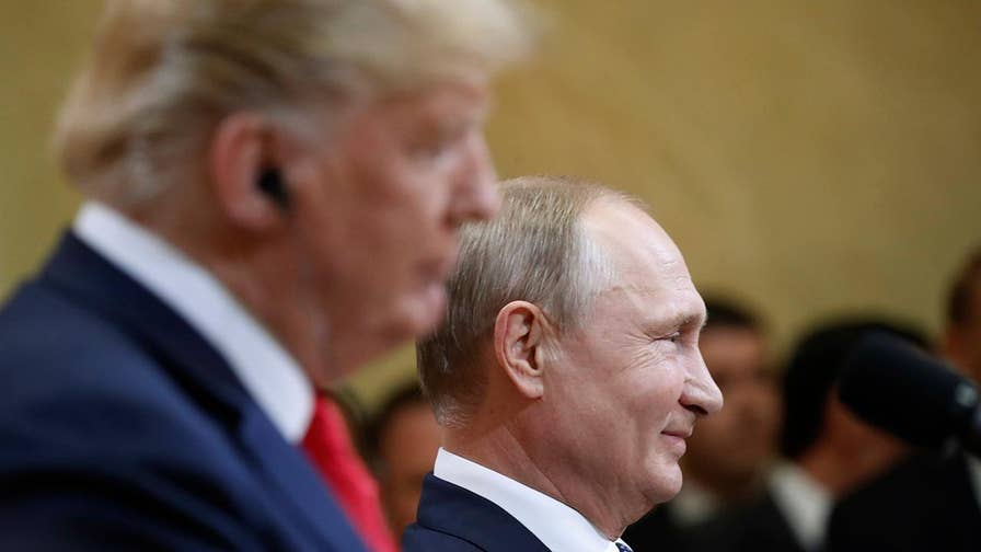 Post-meeting press conference seen by critics as a missed opportunity for the U.S. to condemn Russia on election meddling.