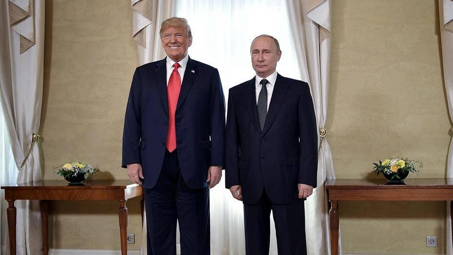 Trump deflects question on Russia meddling at Putin presser