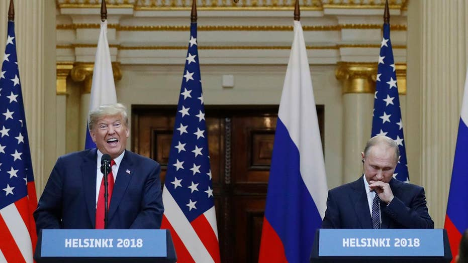 Trump uses Putin summit to deny collusion with Russia