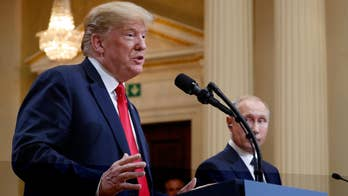 President Trump's willing to believe Putin's denials of Russia meddling in the 2016 presidential election ignites outrage in the Left and elite ruling class. #Tucker
