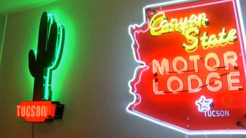 Neon sign museum preserves a fading piece of Americana