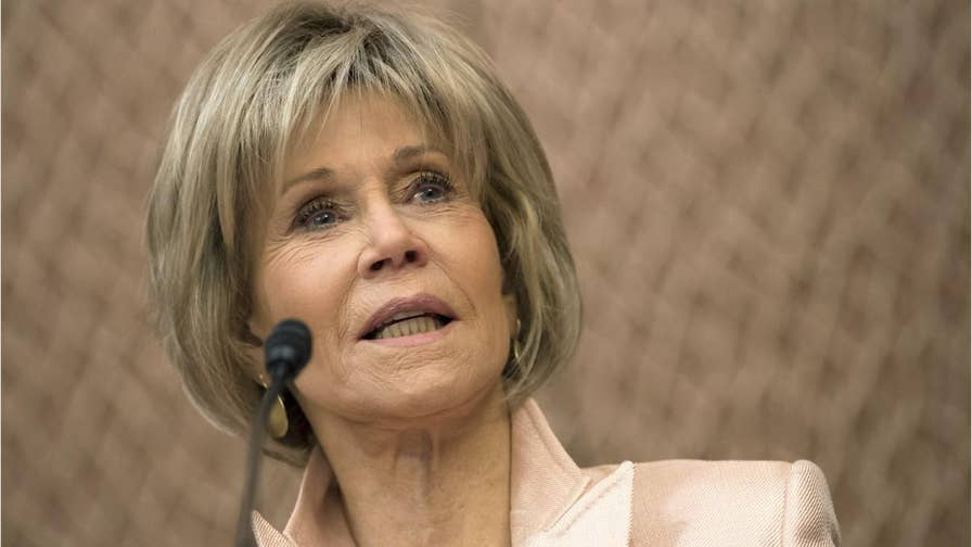 Jane Fonda told 'People' that she believes the United States is currently in an existential crisis and she is using Swing Left to urge people to vote during the midterm elections.