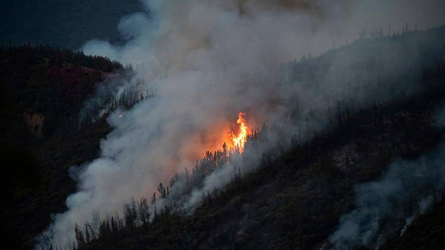 The Ferguson Fire has scorching over 12,000 acres and has covered California's Yosemite National Park in smoke.