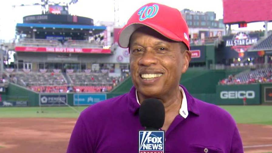 Co-host of 'The Five' and Washington Nationals fan previews Major League Baseball's Midsummer Classic.